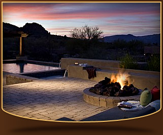 Beautiful Custom Deck with Firepit
